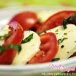 Caprese di pomodori e mozzarella