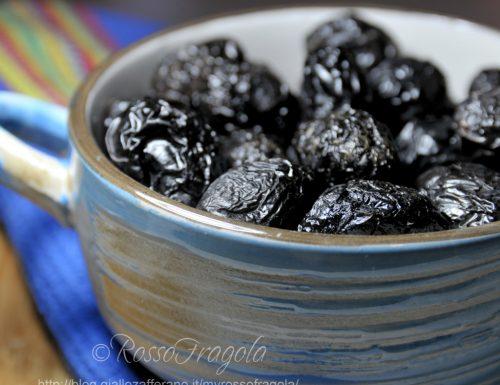 Olive nere al forno alla siciliana
