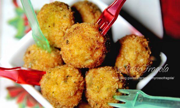 Palline speziate con pollo e ricotta