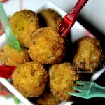 palline speziate con pollo e ricotta,polpette con pollo e ricotta