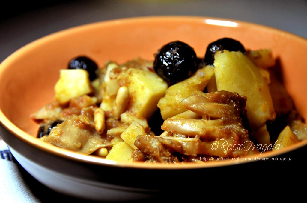 Stoccafisso alla messinese - ricetta siciliana