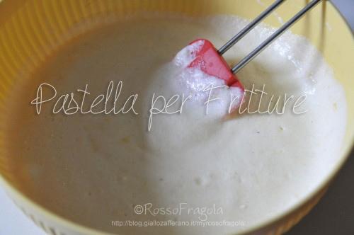 Pastella x fritture,ricette pastella per fritture,pastella