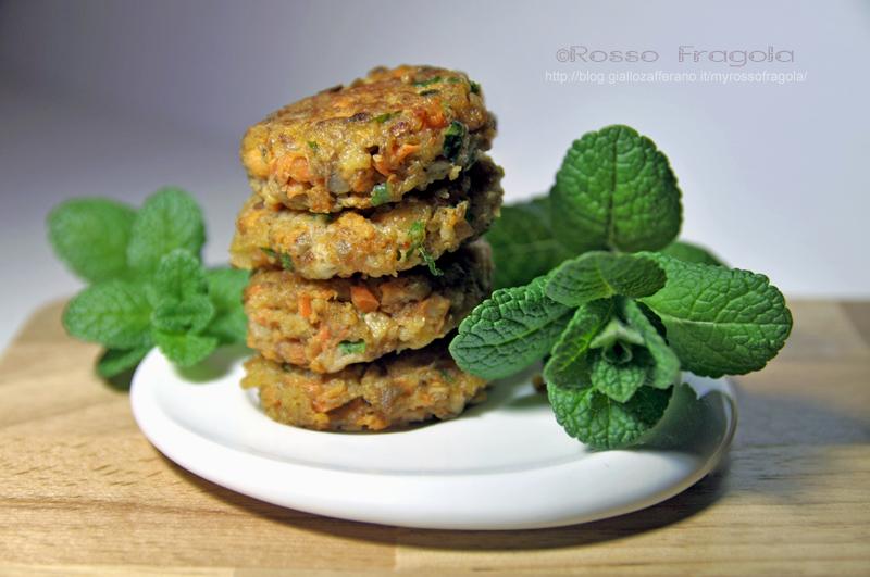 Polpette con funghi zucca e carote,polpette con verdure miste,polpette di funghi