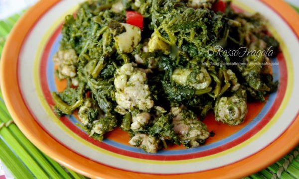 Cavolicelli con salsiccia (Caluceddi cà sasizza)