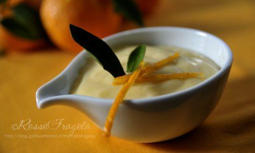 Crema al Mandarino  – ricetta senza uova