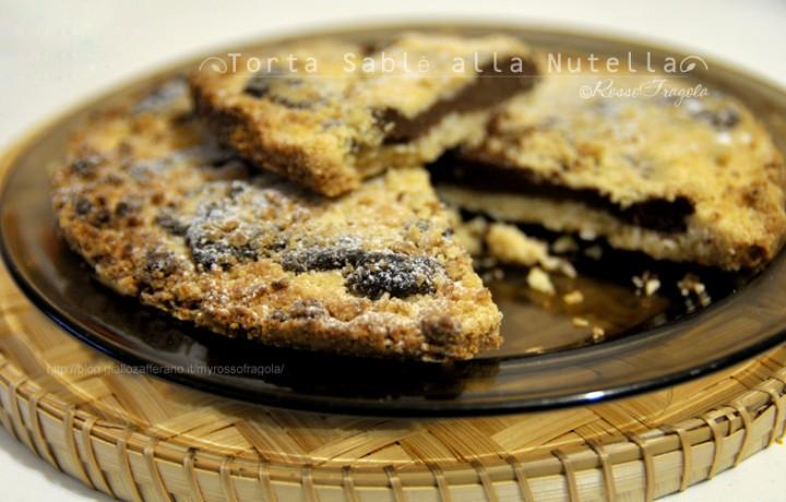 Torta Sablè alla Nutella