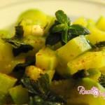 Zucchine alla menta,ricette zucchine