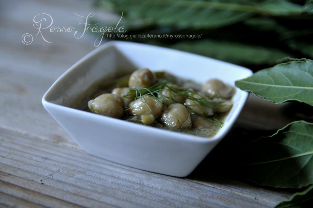 zuppa di ceci e finocchi,ricetta zuppa di ceci