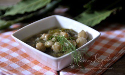 Zuppa di ceci e finocchi