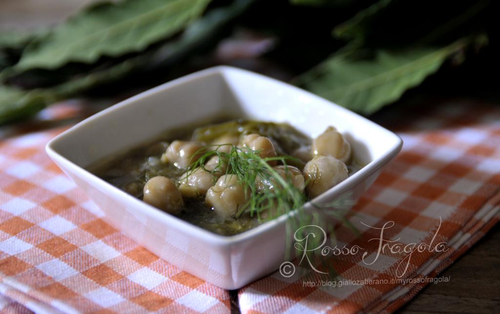 zuppa di ceci e finocchi,zuppa di ceci ricetta