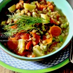 Zuppa di lenticchie del contad...