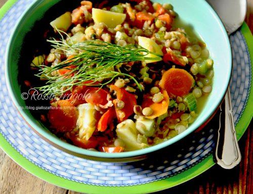 Zuppa di lenticchie del contadino