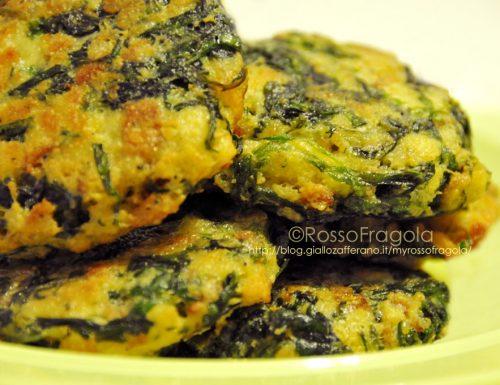 Frittatine agli spinaci – Ricetta del riclico