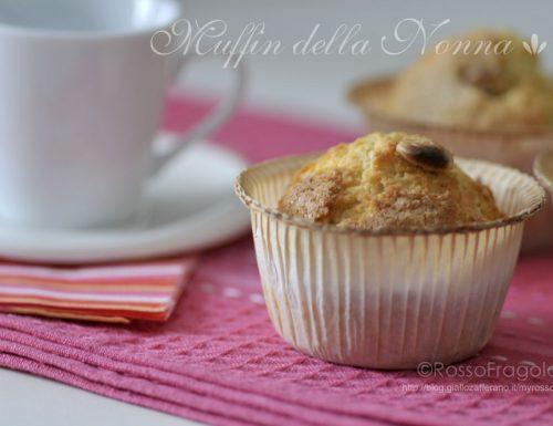 Muffin della nonna – ricetta classica