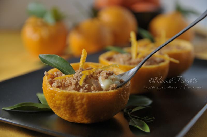 coppe dessert al mandarino