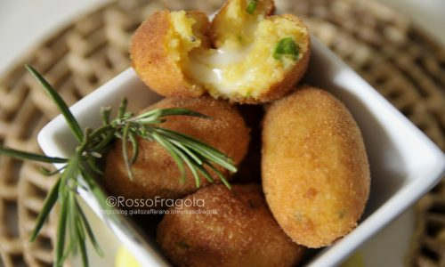 Crocchette di patate al curry