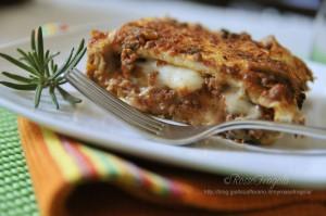 Lasagne finte al ragù - ricetta del riciclo