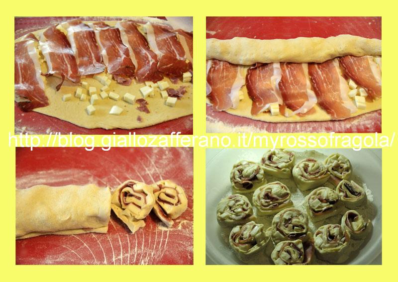 girelle al prosciutto e formaggio