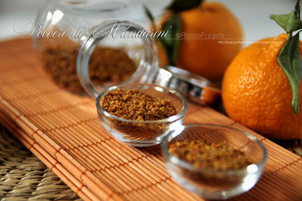 Aroma mandarino in polvere