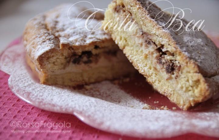 Torta Bea – Con ricotta amaretti mandorle e amarene