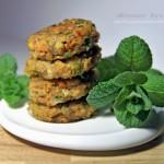Polpette con funghi zucca e carote