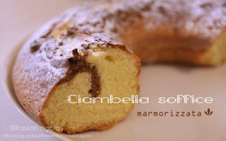 Ciambella soffice marmorizzata