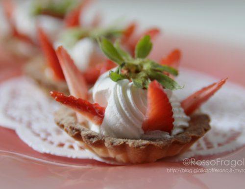 Tartellette alle fragole – ricetta golosa