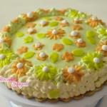 torta con savoiardi e mascarpone