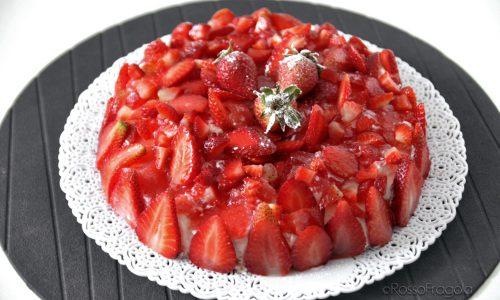 Torta Fragolosa – dolce senza cottura