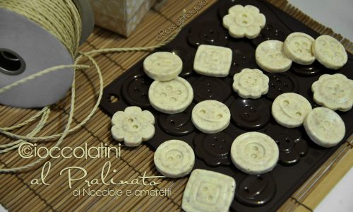 Cioccolatini al pralinato
