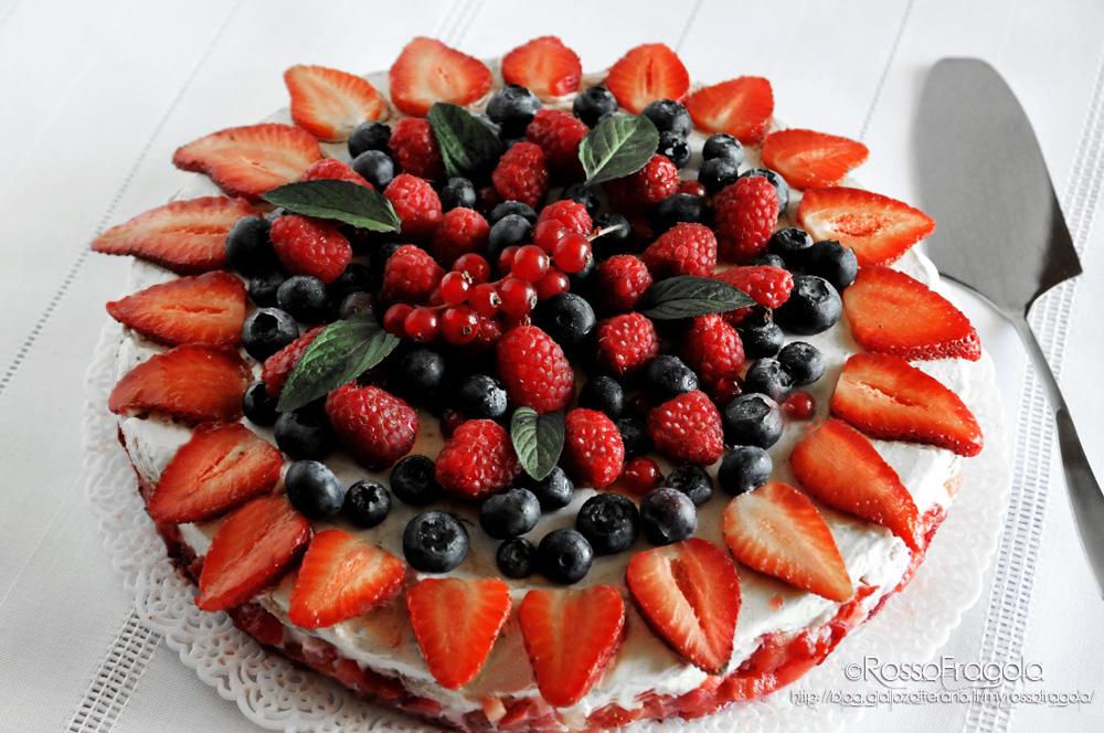 """Torta """"Delizia d'estate"""" - ©Rosso Fragola"""
