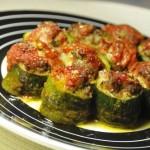 Tronchetti di zucchine ripieni