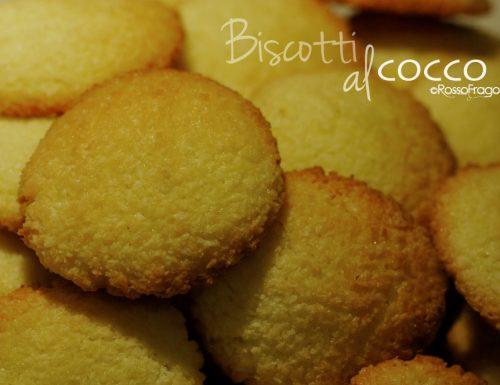 Biscotti al cocco – ricetta facile e golosa