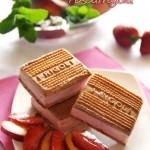 biscotti gelato pescafragola - © Rosso Fragola