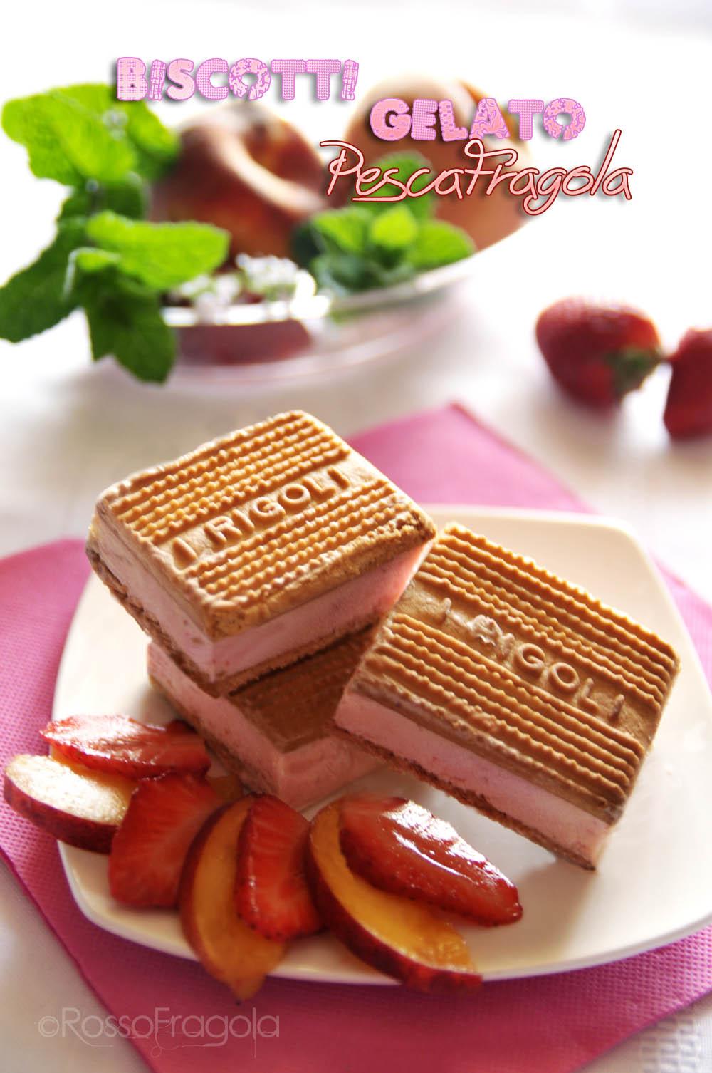 biscotti gelato pescafragola