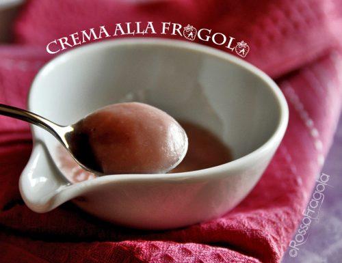 Crema alla Fragola con latte di mandorla
