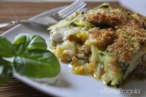 timballo di zucchine e patate
