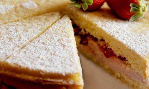 Torta Capriccio alla Fragola – ricetta golosa