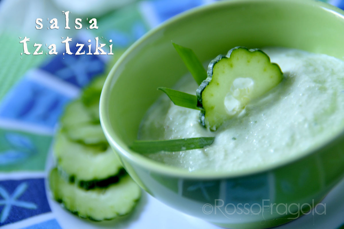 Salsa Tzatziki - ricetta salsa greca