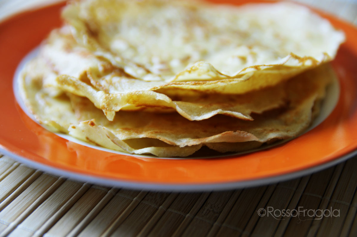 Crepes - ricetta base
