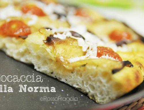 Focaccia alla Norma – ricetta soffice e gustosa