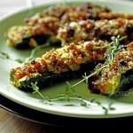 Zucchine farcite con pesce spa...