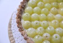 Crostata all'uva  con finta pastafrolla