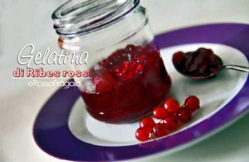 gelatina di ribes rossi