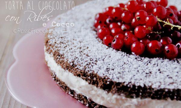 Torta al cioccolato con Ribes e Cocco