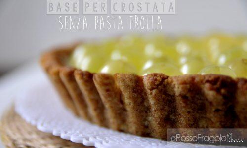Base per crostata senza pasta frolla