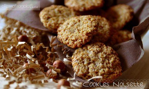 Cookies noisette – Biscotti alle nocciole