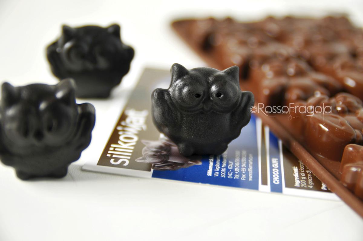 gufetti in cioccolato plastico