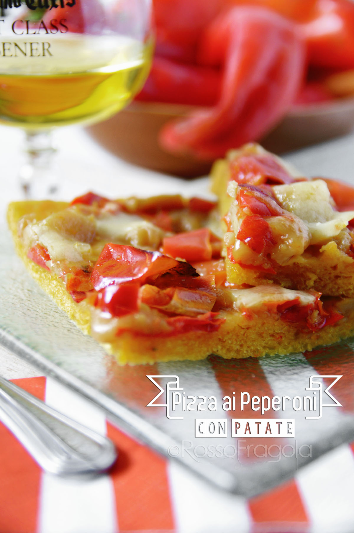 Pizza ai peperoni... ma non la solita!