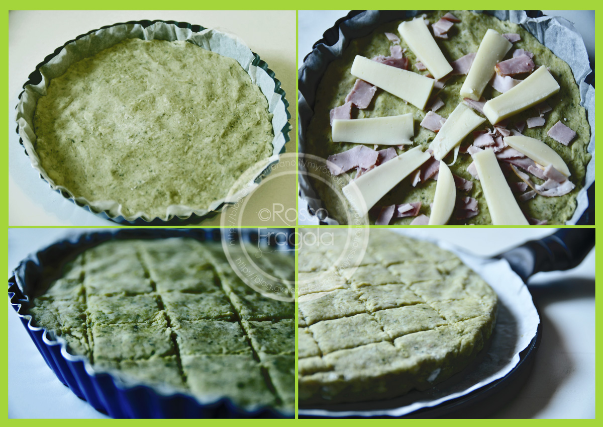 Torta di patate al pesto